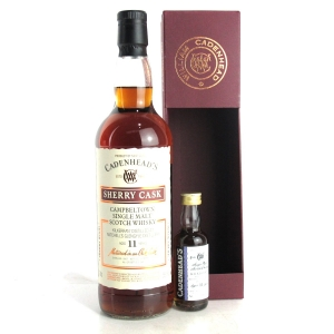 Kilkerran 2007 Cadenhead's 11 Year Old Sherry Cask / with Miniature 5cl