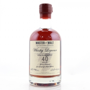 Master of Malt Speyside Whisky Liqueur 40 Year Old