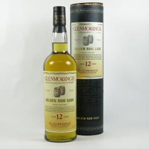 Glenmorangie 12 year Old Golden Rum Cask front