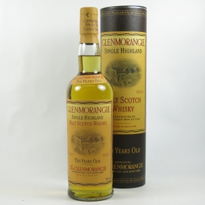 Glenmorangie 10 Year Old 1990s front