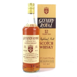 Glenury Royal 12 Year Old 1980s