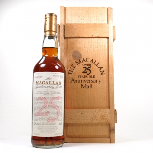 Macallan 1968 Anniversary Malt 25 Year Old Front