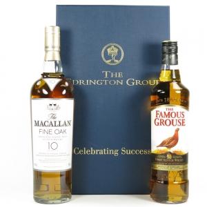 The Edrington Group Celebrating Success / Macallan Fine Oak 10 Year Old & Famous Grouse