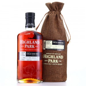 Highland Park 2003 Single Cask 13 Year Old #1935 / Calle Cask No.1