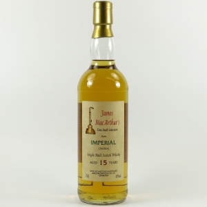 Imperial 15 Year Old James MacArthur's Fine Malt Selection