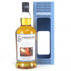 Springbank 10 Year Old Marrying Strength / Cadenhead Shop Exclusive
