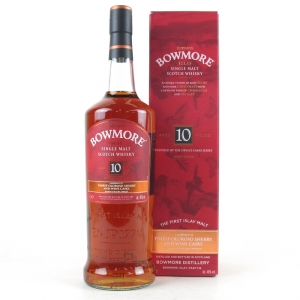 Bowmore 10 Year Old Devil's Cask Inspired Travel Retail 1 Litre
