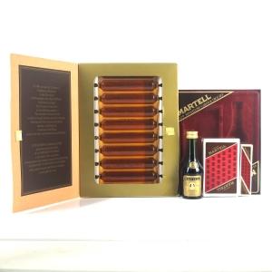 Martell Medaillon VSOP & Julels Robin Miniature Gifts Sets