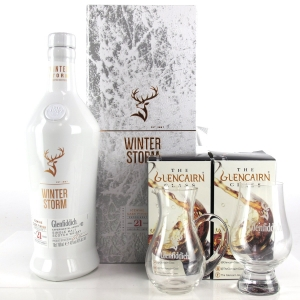 Glenfiddich 21 Year Old Experimental Series #3 Winter Storm / includes Jug & Glass