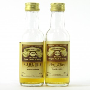 Port Ellen & Caol Ila Gordon and MacPhail Miniatures x 2