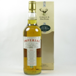 Imperial 1991 Gordon and Macphail Front