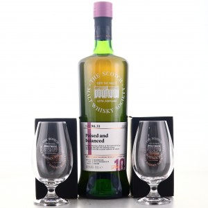 Glendronach 2008 SMWS 10 Year Old 96.31 / with 2 x Glasses