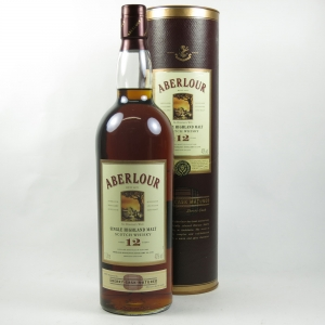 Aberlour 12 Year Old Oloroso Sherry Cask Matured 1 Litre front