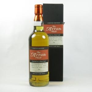 Arran Rum Single Cask Front