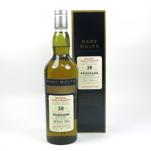 Rosebank 1979 Rare Malt 20 Year Old Front