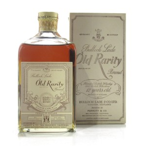 Bulloch Lade Old Rarity 12 Year Old 1940s / US Import