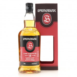 Springbank 12 Year Old Cask Strength / 54.8%