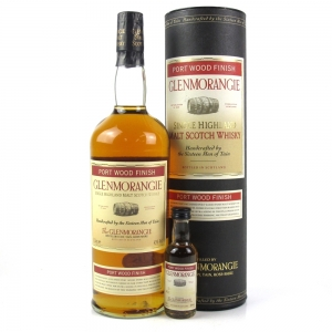 Glenmorangie Port Wood Finish Including 5cl Miniature