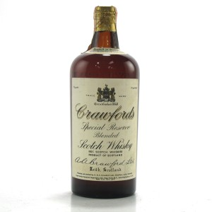 Crawford's Special Reserve 1950s / US Import
