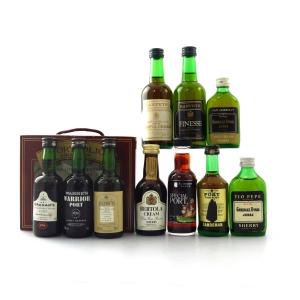 Miscellaneous Port and Sherry Miniature Selection 8 x 5cl & 2 x 5cl