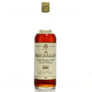 Macallan 1966 17 Year Old
