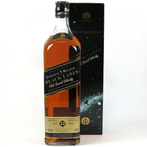 Johnnie Walker Black Label 12 Year Old Millennium Edition 1 Litre