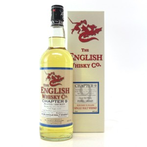 English Whisky Co 2007 Chapter #9 / Peated