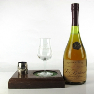 Balvenie 10 Year Old Founder's Reserve 1980s / Including Plinth, 1/5 Gill Measure and Glass