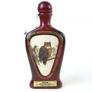 Beam's Kentucky Whiskey Decanter / Horned Owl