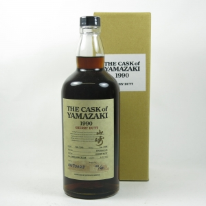 Yamazaki 1990 Single Cask #ON70645 Sherry Butt front