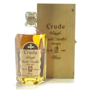 Crude 10 Year Old Single Pot Still Very Old Barbados Rum 50cl