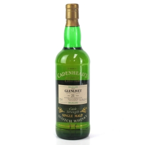 Glenlivet 1973 Cadenhead's 21 Year Old 75cl / US Import