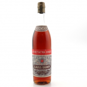 Clauss 5 Star Greek Brandy circa 1970s