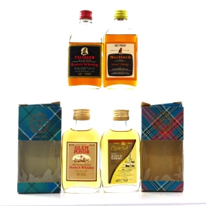 Gordon and MacPhail Miniatures 1970/80s x 4