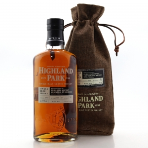 Highland Park 2003 Single Cask 14 Year Old #2118 / Edinburgh Airport and World of Whiskies