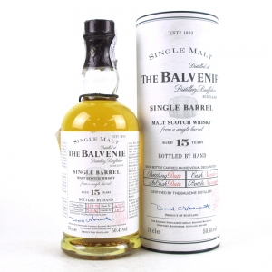 Balvenie 1982 15 Year Old Single Barrel / Bottled By Hand
