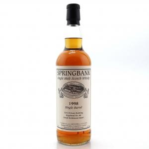 Springbank 1998 Private Bottling 17 Year Old / Fresh Sherry Hogshead