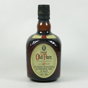 Old Parr Deluxe 12 Year Old 1980's front