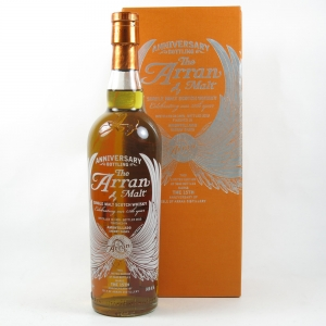 Arran 15th Anniversary Bottling front