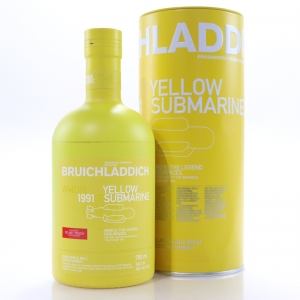 Bruichladdich 1991 Yellow Submarine 25 Year Old / WMD III