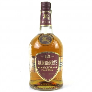 Burberry's 15 Year Old Single Malt