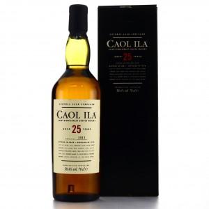 Caol Ila 1979 Cask Strength 25 Year Old