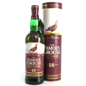 Famous Grouse 18 Year Old Malt