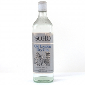 Soho Old London Dry Gin Circa 1960s