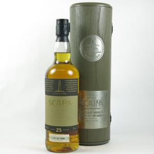 Scapa 25 Year Old 1980 available to buy or sell at Whisky Auctioneer online scotch whisky auctions.