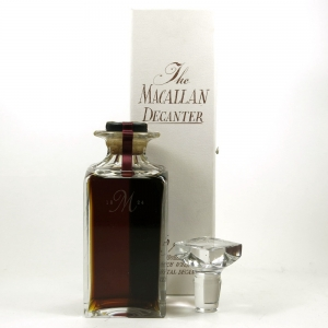 Macallan 1965 / The Macallan Decanter 25 Year Old Front