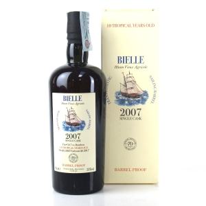 Bielle 2007 Single Barrel 10 Year Old Rum / Velier 70th Anniversary