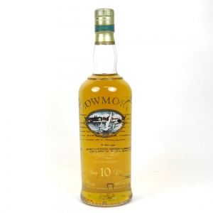Bowmore 10 year old Screen Print Label