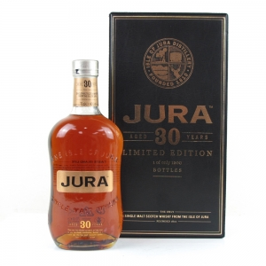 Isle of Jura 30 Year Old Limited Edition World of Whiskies