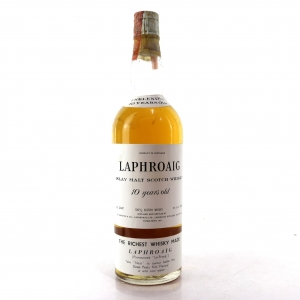 Laphroaig 10 Year Old 1960s / US Carlton Import